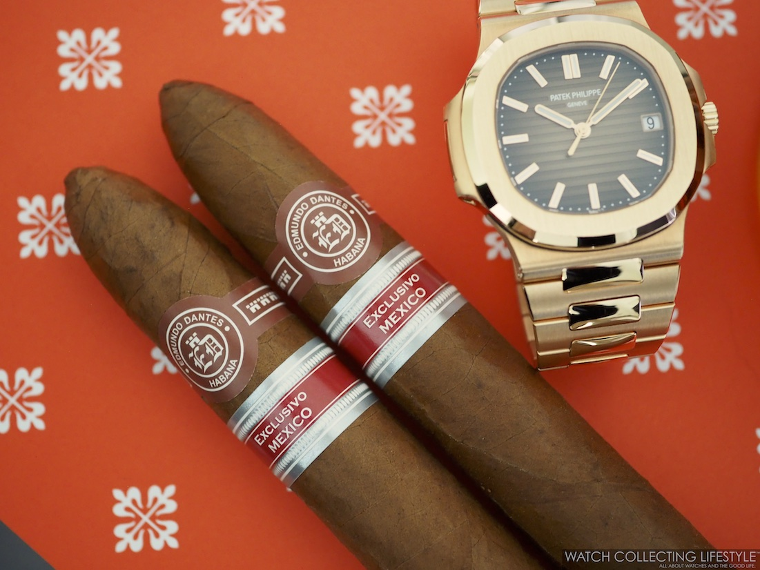 Edmundo Dantes Mexico and Patek Philippe 5711 WCL