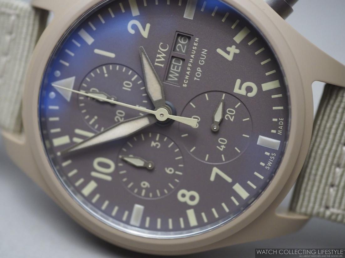 IWC Pilot's Watch Chronograph Top Gun Edition 'Mojave Desert' Macro WCL