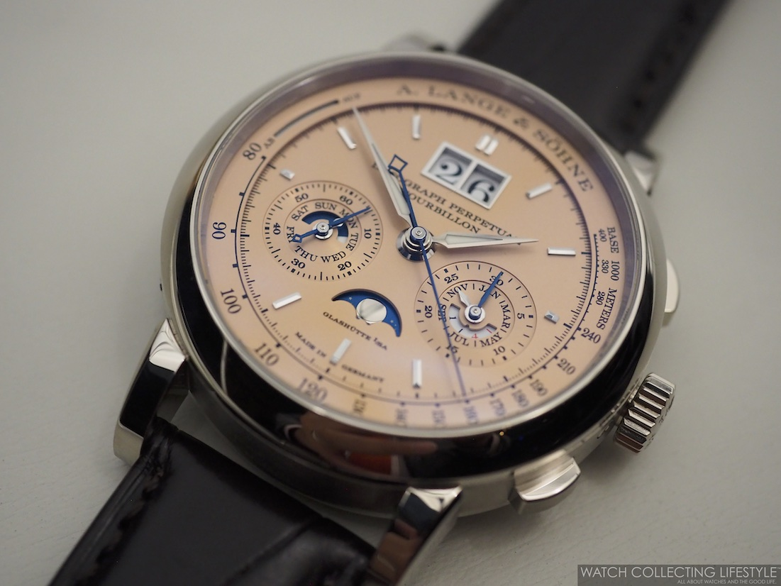A. Lange & Söhne Datograph Perpetual Tourbillon Solid Pink Gold Dial WCL