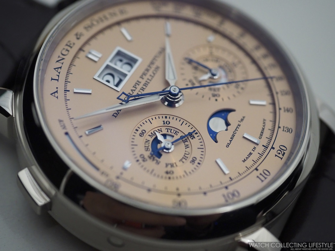 A. Lange & Söhne Datograph Perpetual Tourbillon Solid Pink Gold Dial