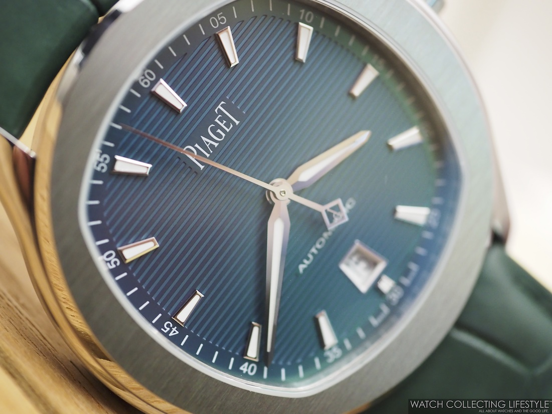 Piaget Polo S Blue Green Dial WCL