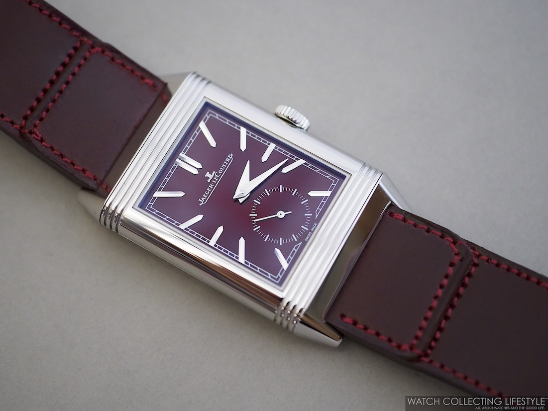 Jaeger-LeCoultre Reverso Casa Fagliano Red Wine Dial WCL2