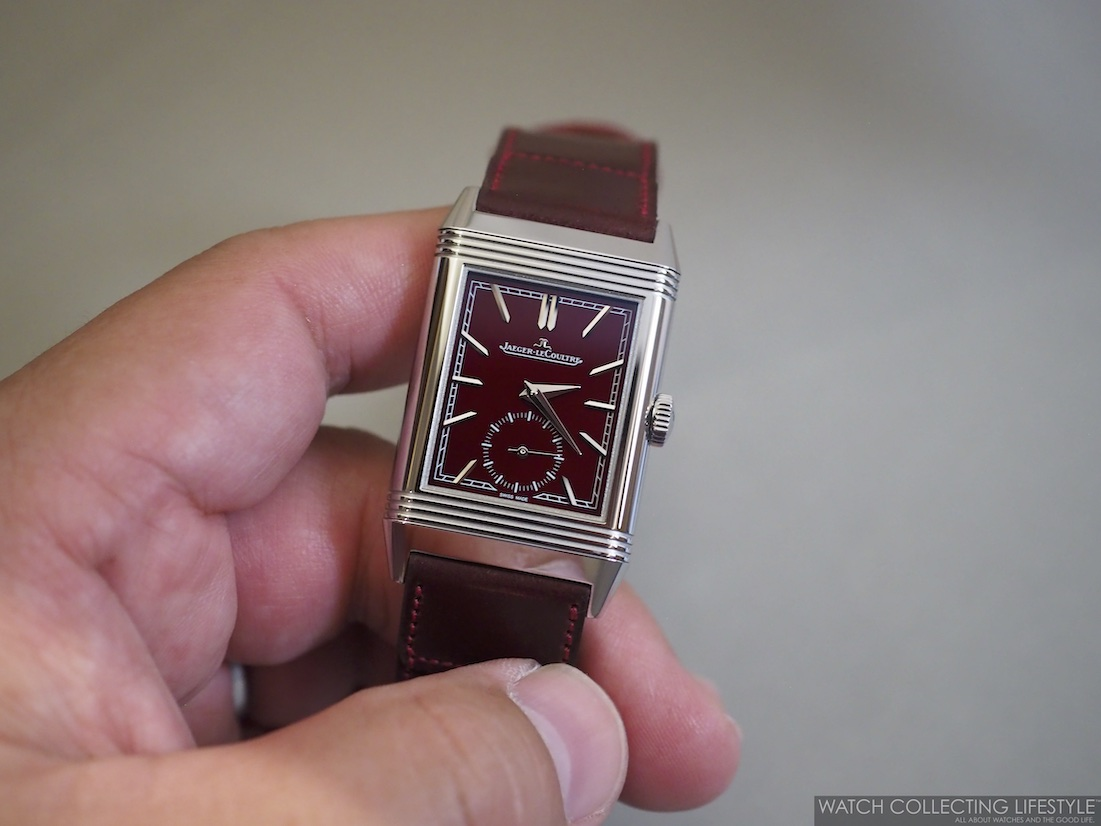 Jaeger-LeCoultre Reverso Casa Fagliano Red Wine Dial WCL Hands-on Review