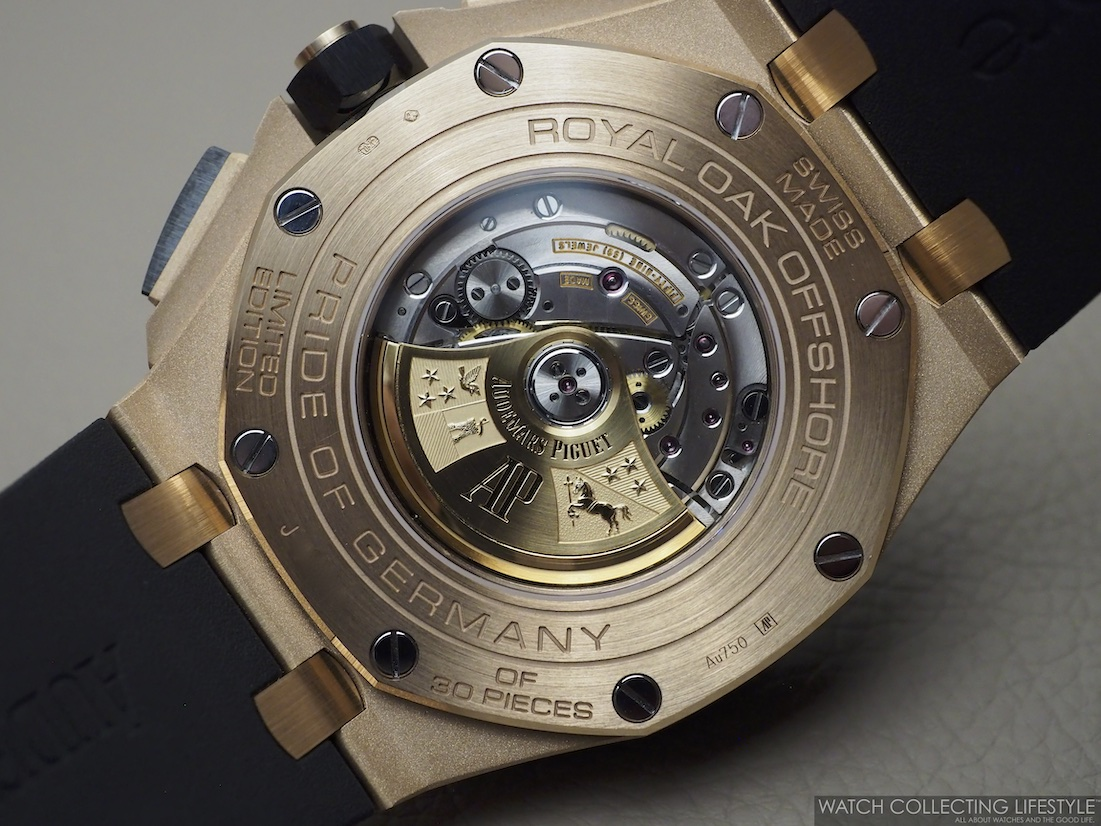 Audemars Piguet Royal Oak Offshore Chronograph 44 'Pride of Germany' Limited Edition ref. 26416RO Case Back