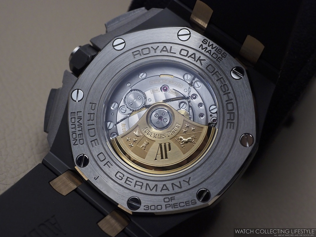Audemars Piguet Royal Oak Offshore Chronograph 44 'Pride of Germany' Limited Edition ref. 26415CE.OO.A002CA.01