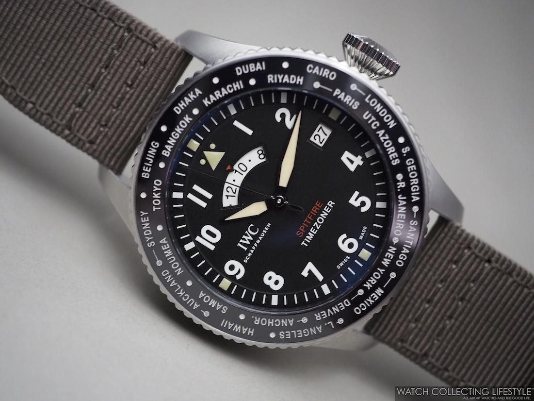 "IWC Pilot's Watch Timezoner Spitfire Edition ""The Longest Flight"" ref. IW395501 WCL Live Pics"