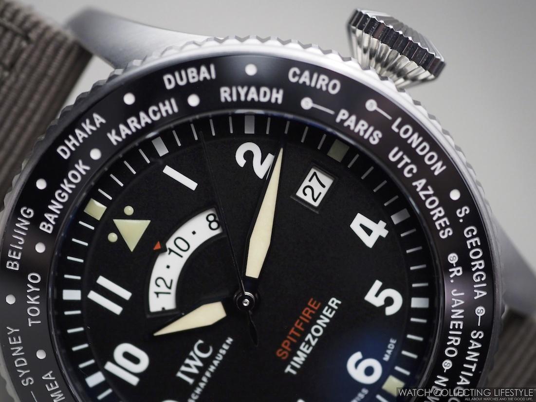 "IWC Pilot's Watch Timezoner Spitfire Edition ""The Longest Flight"" WCL"