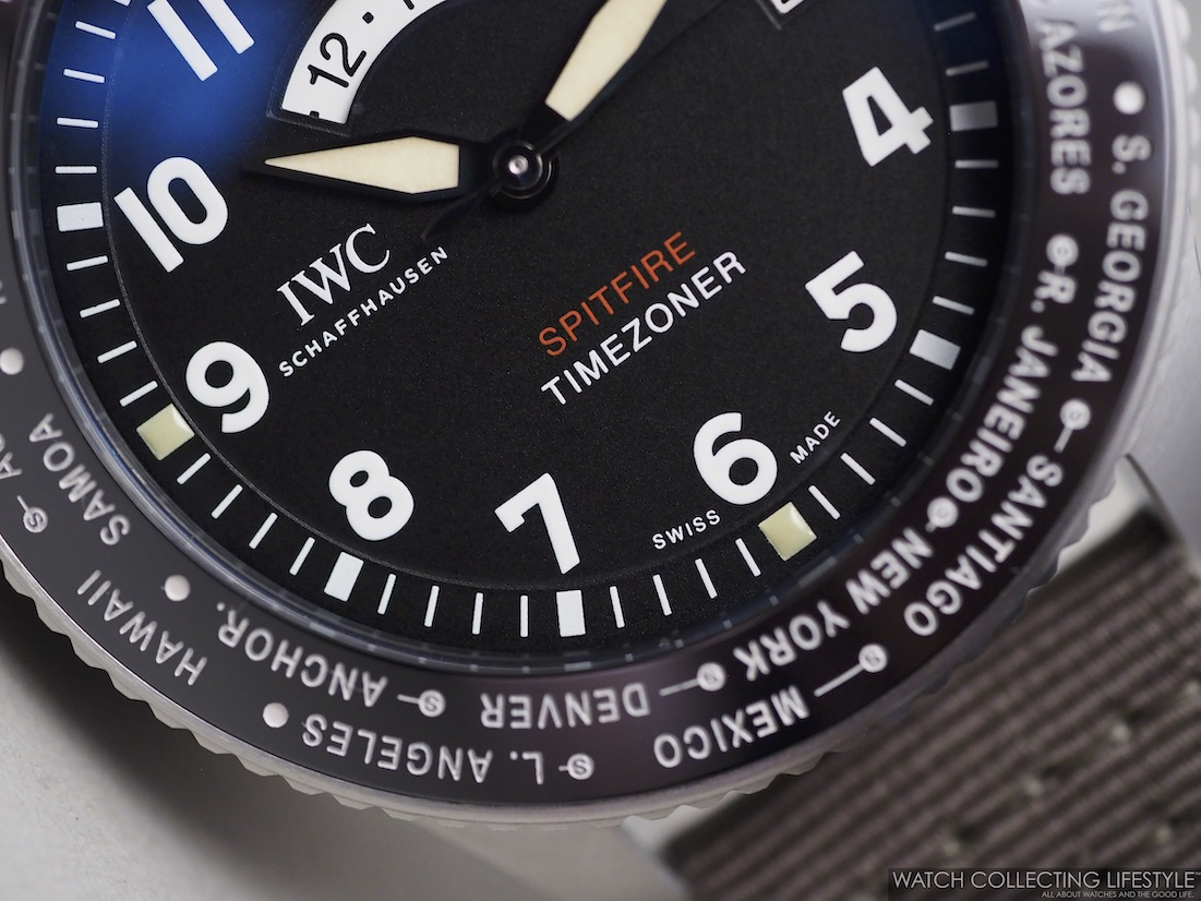 "IWC Pilot's Watch Timezoner Spitfire Edition ""The Longest Flight"" WCL2"