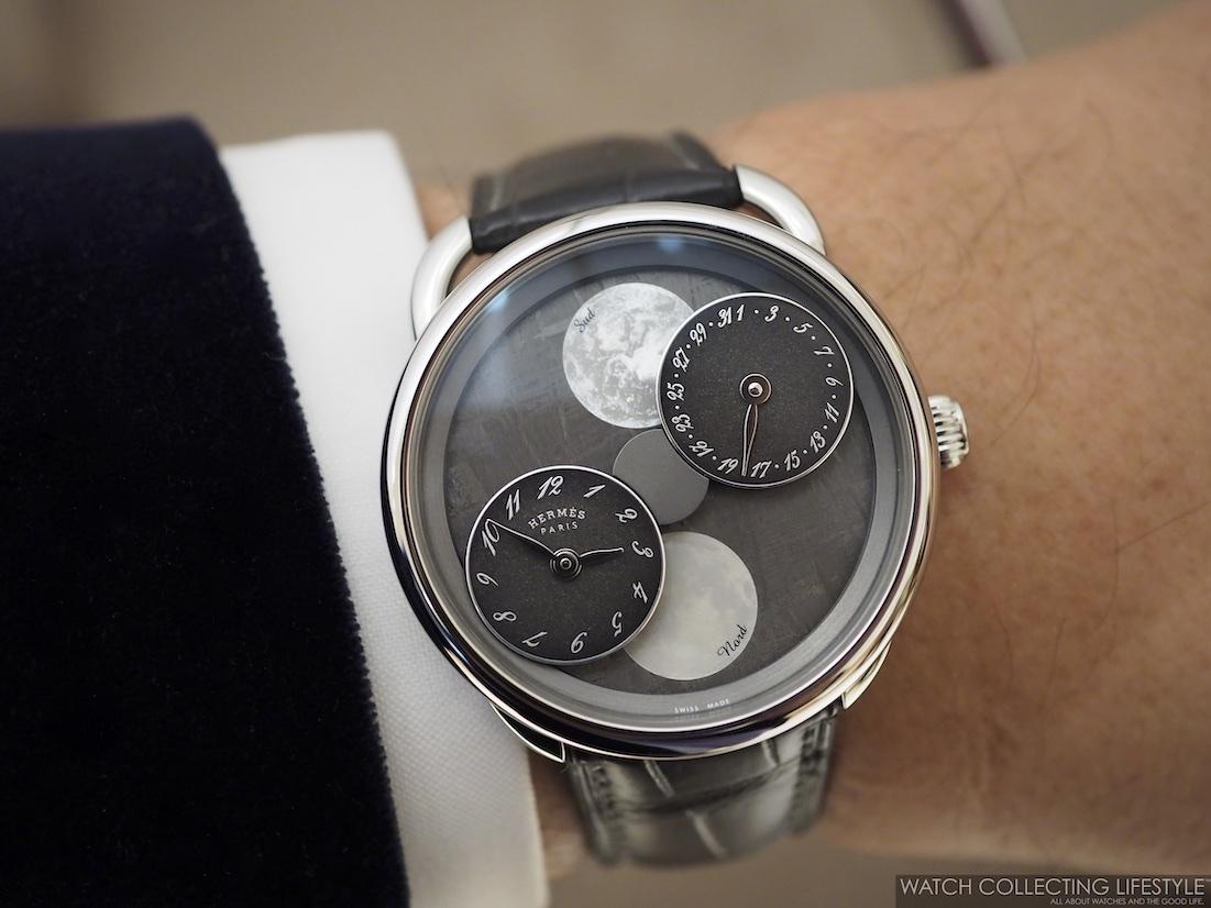 Hermès Arceau L'Heure De La Lune Wristshot