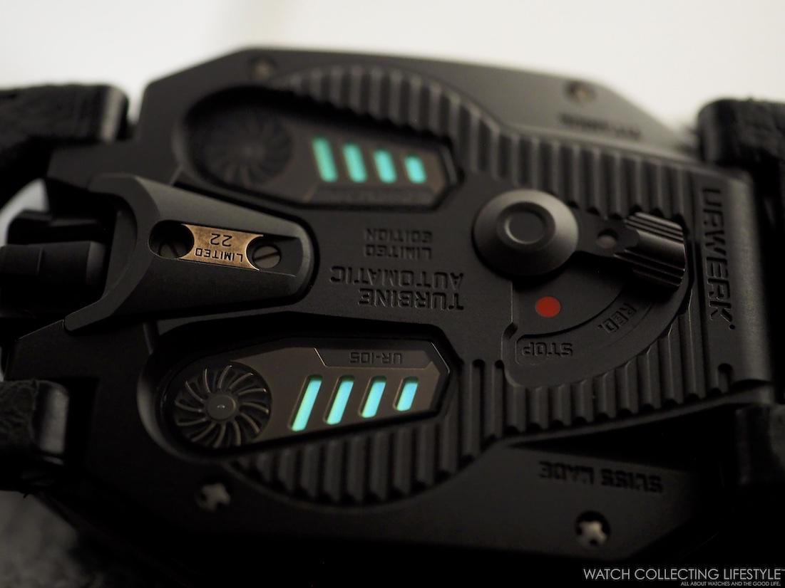 Urwerk UR-105 CT Maverick Luminova