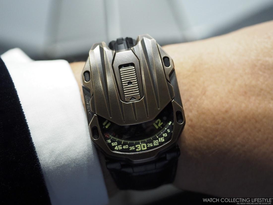 Urwerk UR-105 CT Maverick Wristshot WCL