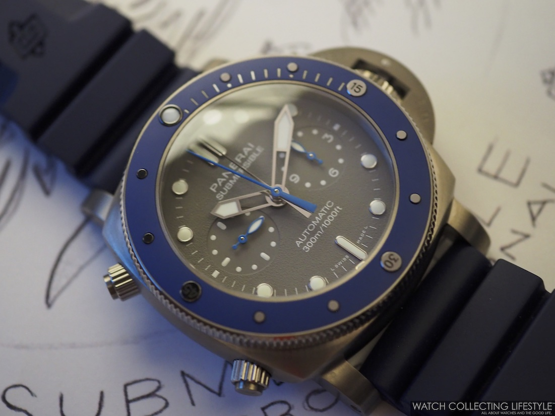 Panerai Submersible Chrono Guillaume Nery Edition 47 mm