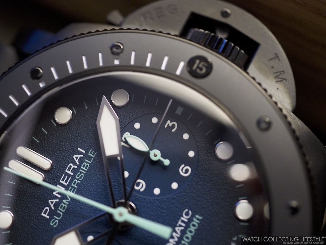 Panerai Submersible Chrono Guillaume Néry Edition PAM983