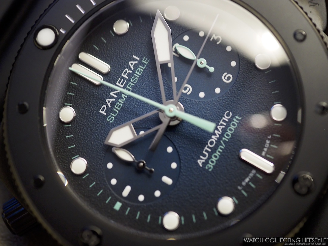 Panerai Submersible Chrono Guillaume Néry Edition 47 mm PAM983