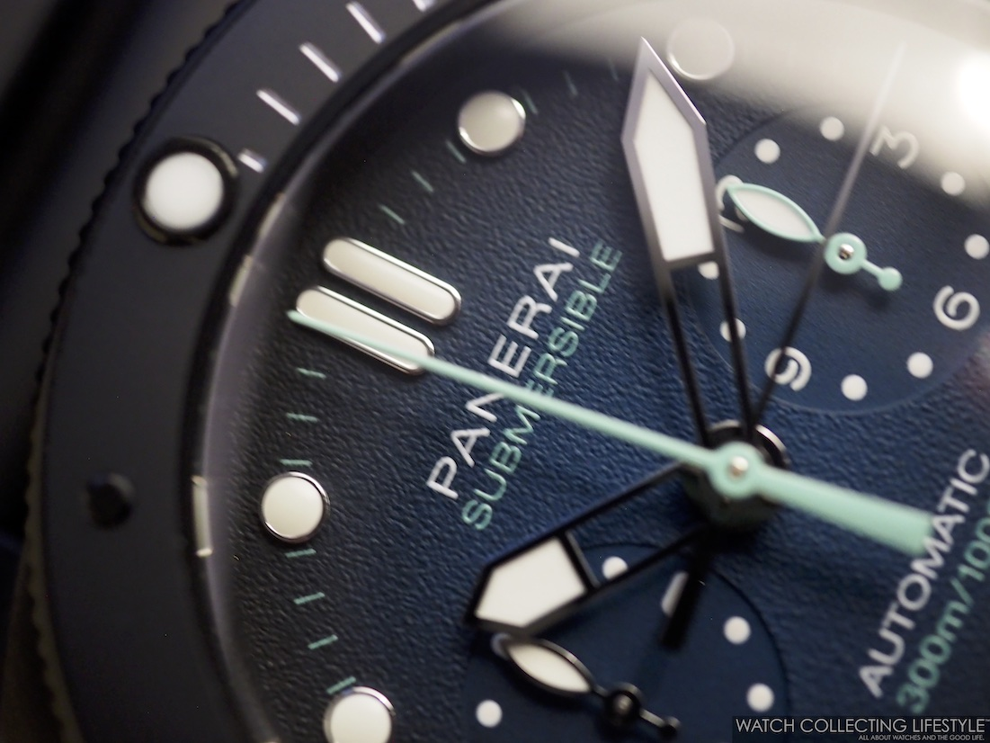 Panerai Submersible Chrono Guillaume Néry Edition 47 mm PAM983 WCL