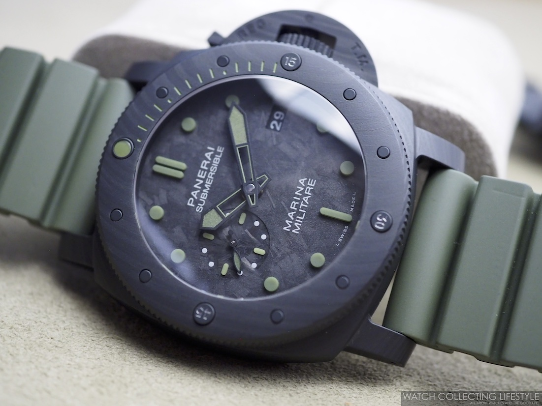 Panerai Submersible Marina Militare Carbotech Special Edition PAM961