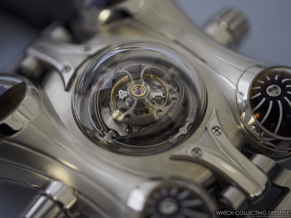 MB&F Horological Machine No. 6 Space Pirate Final Edition Stainless Steel WCL