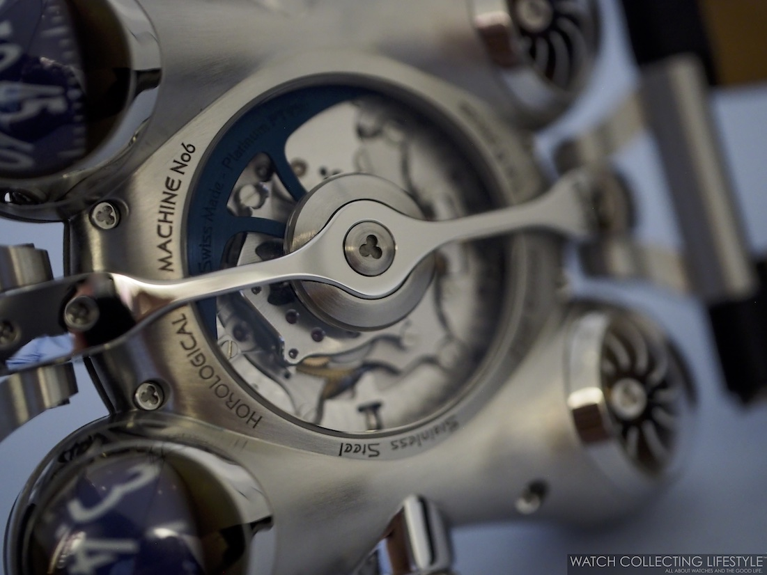 MB&F Horological Machine No. 6 Final Edition Movement