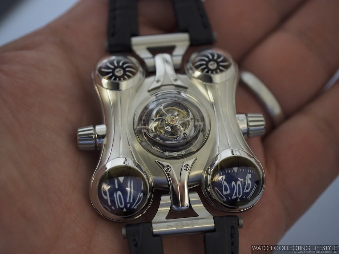 MB&F Horological Machine No. 6 Final Edition Hands-on