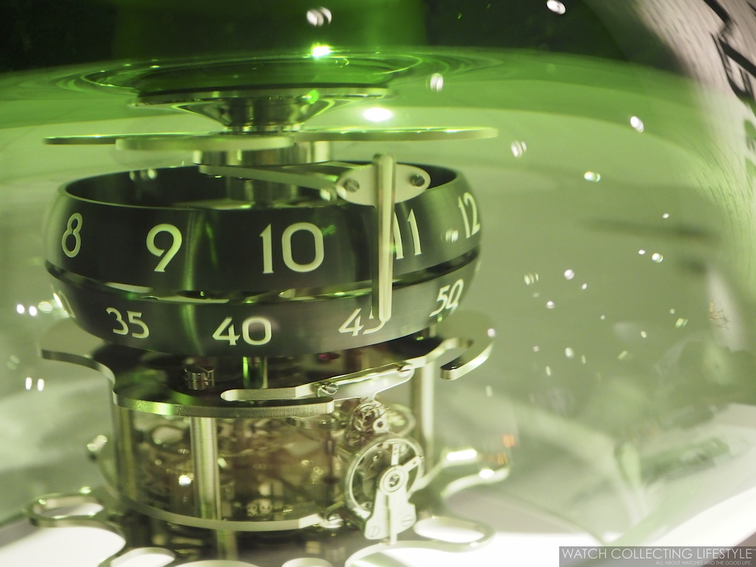 MB&F Medusa Clock in Collaboration with L'Epée 1839 Green