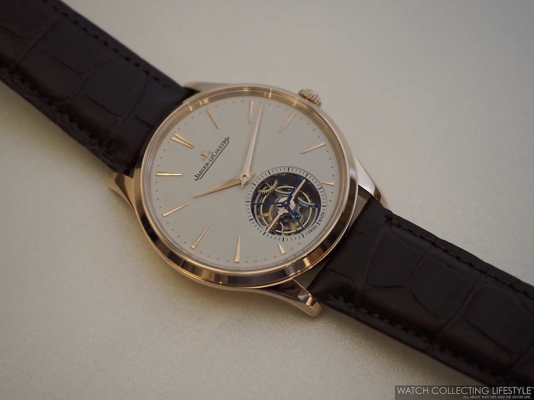 Jaeger-LeCoutlre Master Ultra Thin Tourbillon Pink Gold WCL