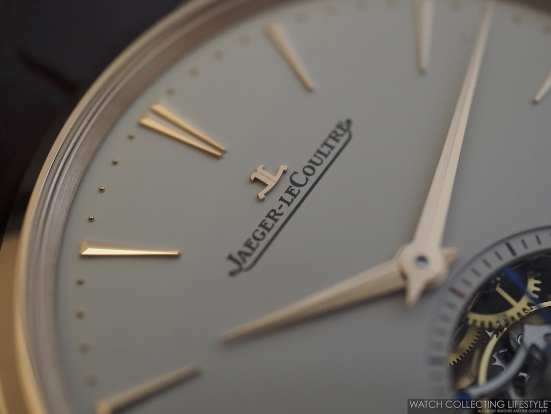 Jaeger-LeCoutlre Applied Logo on Dial WCL