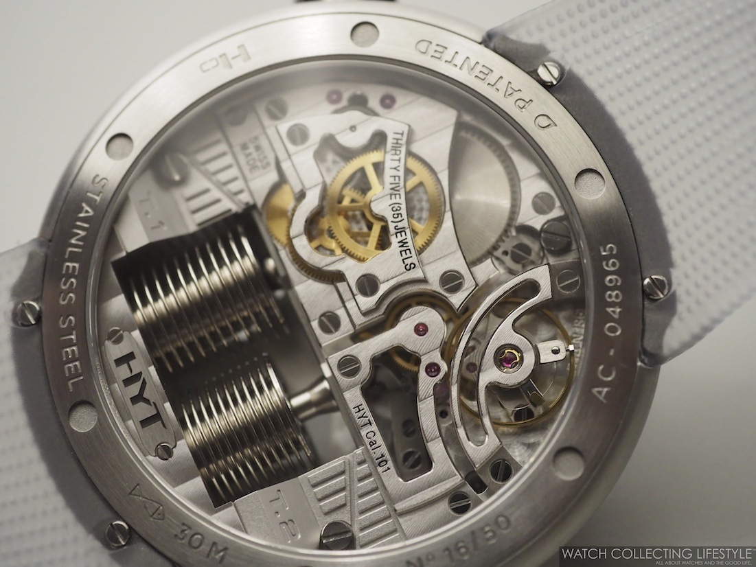 HYT H0 'Time is Precious' Edition Movement Calibre 101