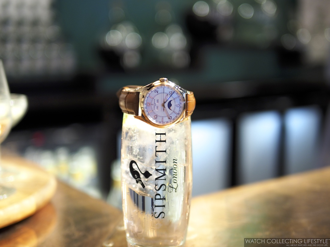 Sipsmith London Gin and Vacheron Constantin FiftySix