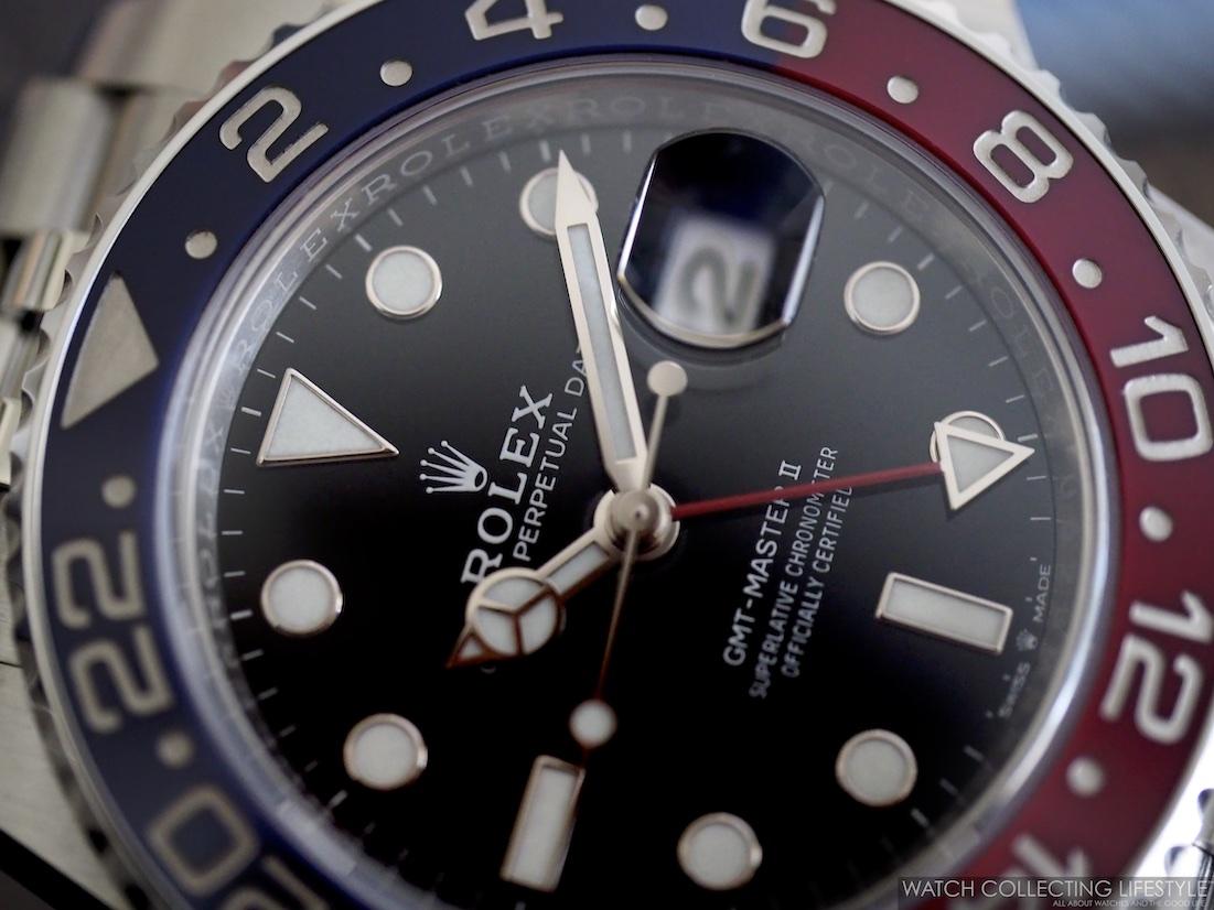Rolex GMT Master II ref. 126710 BLRO