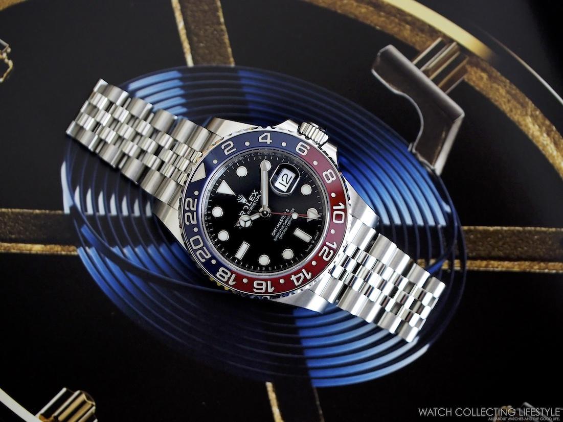 Rolex GMT Master II ref. 126710 BLRO WCL