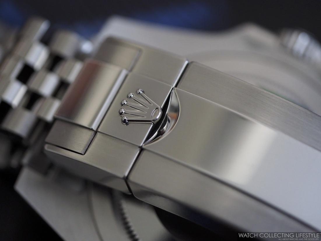 Rolex GMT Master II ref. 126710 BLRO Clasp