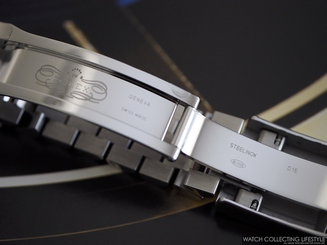 Rolex GMT Master II ref. 126710 BLRO Clasp Interior