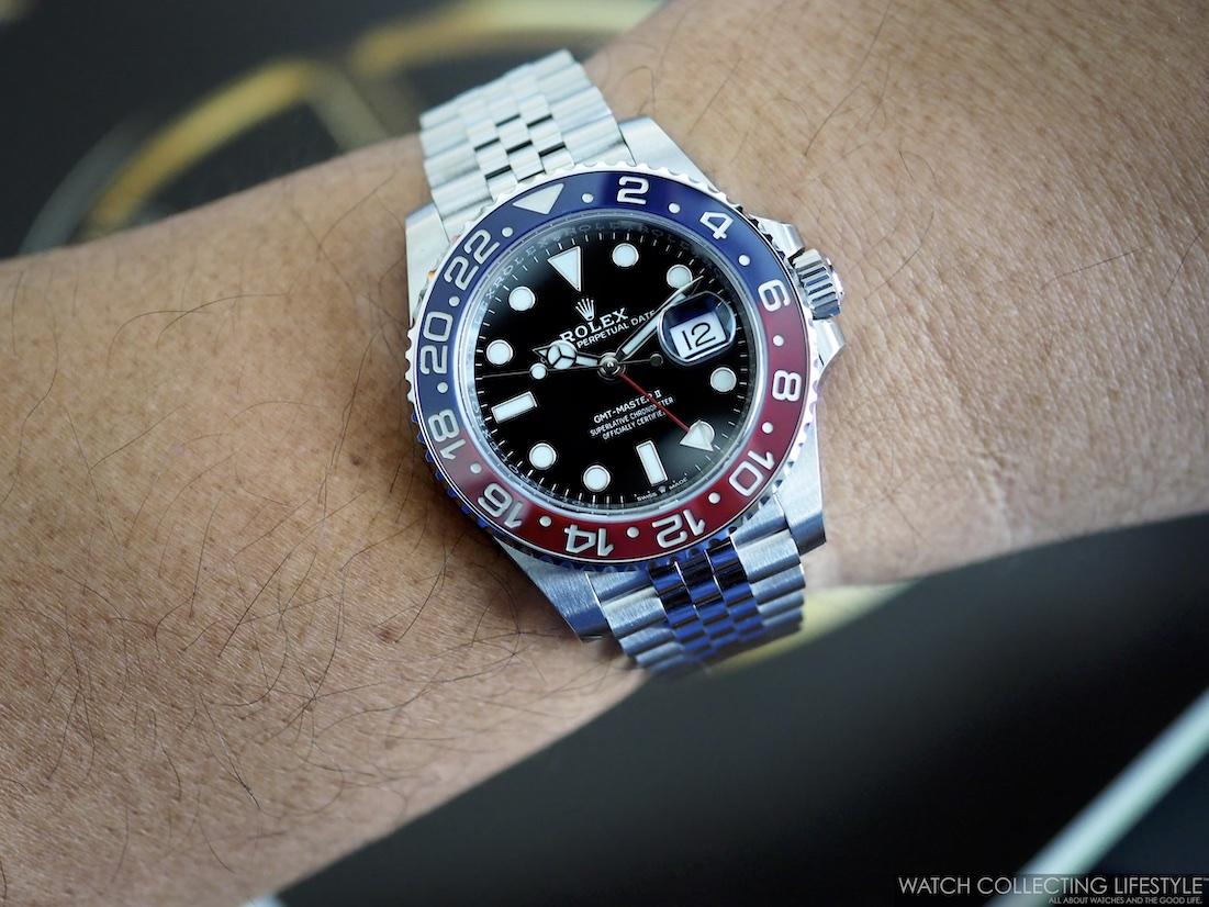 Rolex GMT Master II ref. 126710 BLRO Wristshot