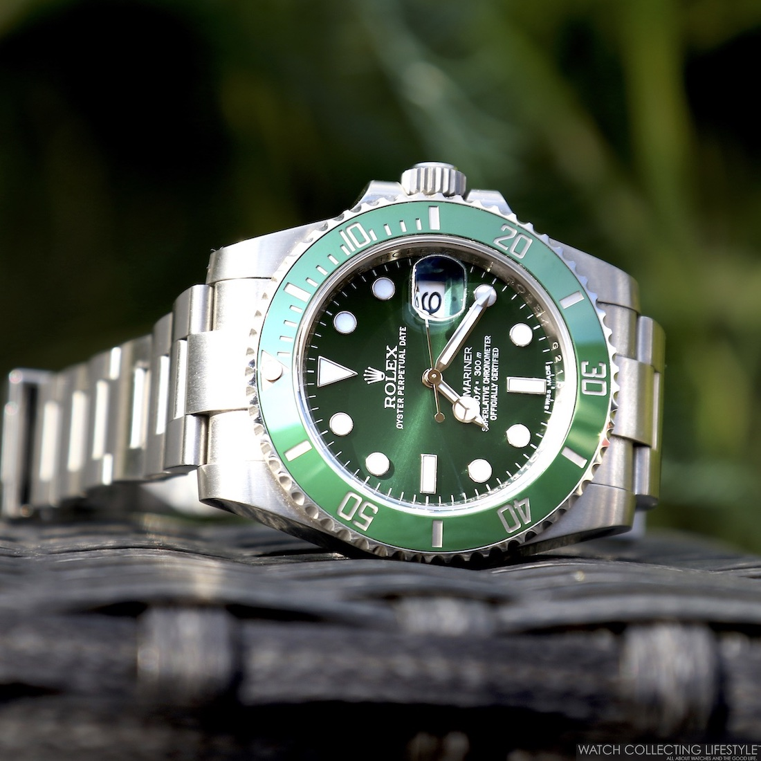 Rolex Submariner ref. 116610LV The Hulk