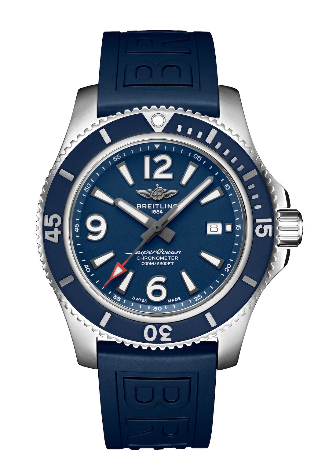 09_Superocean 44 with blue dial and blue Diver Pro III rubber strap_22864_19-03-19.jpeg