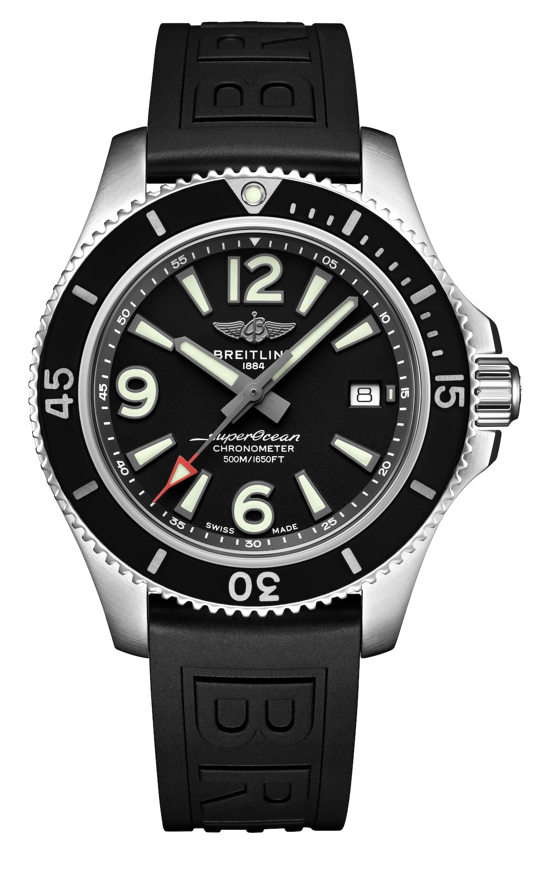 14_Superocean 42 with black dial and black Diver Pro III rubber strap_22856_19-03-19.jpeg