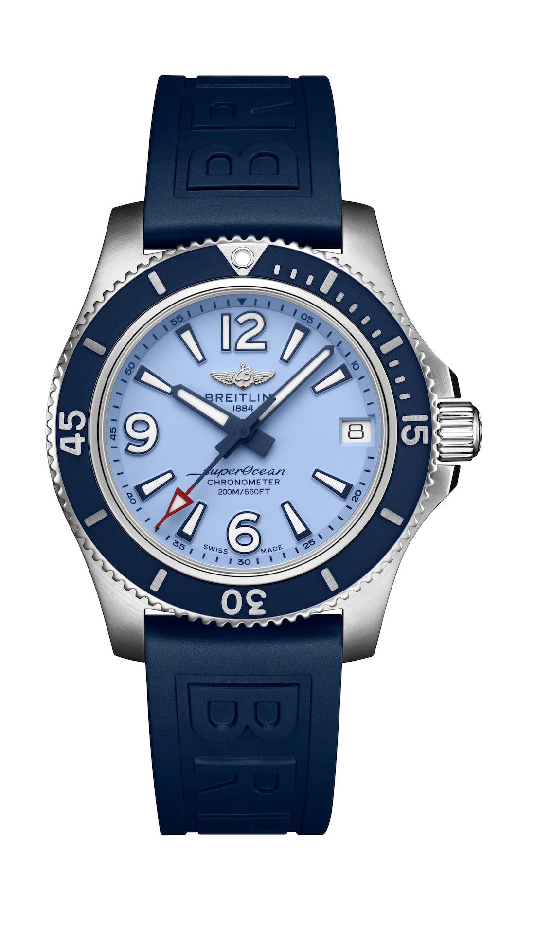 21_Superocean 36 with light blue dial and blue Diver Pro III rubber strap_22854_19-03-19.jpeg