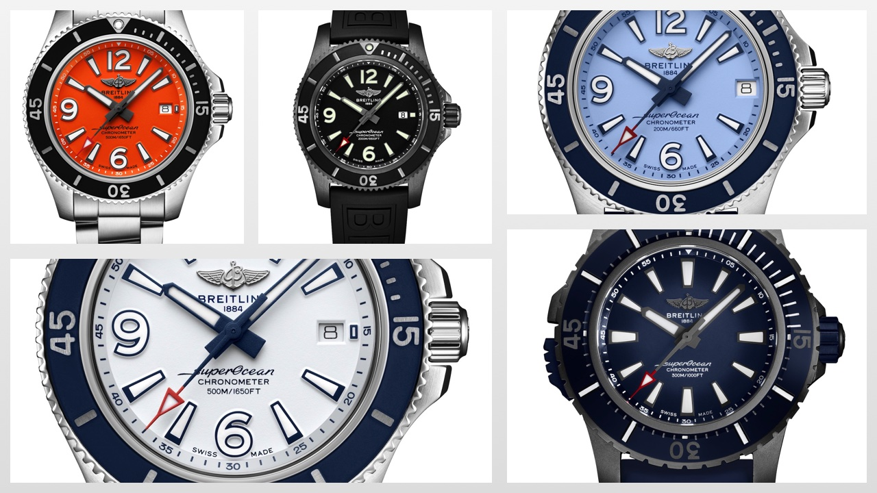 Breitling Superocean New Collection 2019
