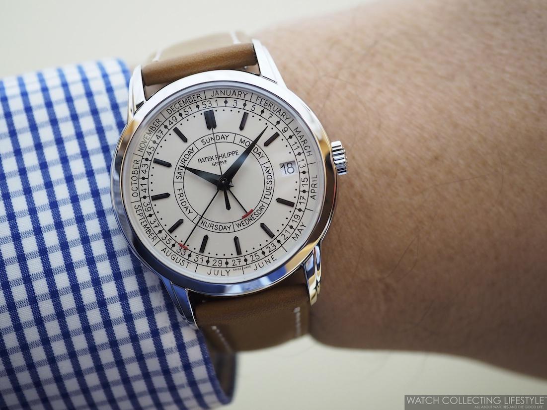 Patek Philippe Calatrava Weekly Calendar ref. 5212A Wristshot