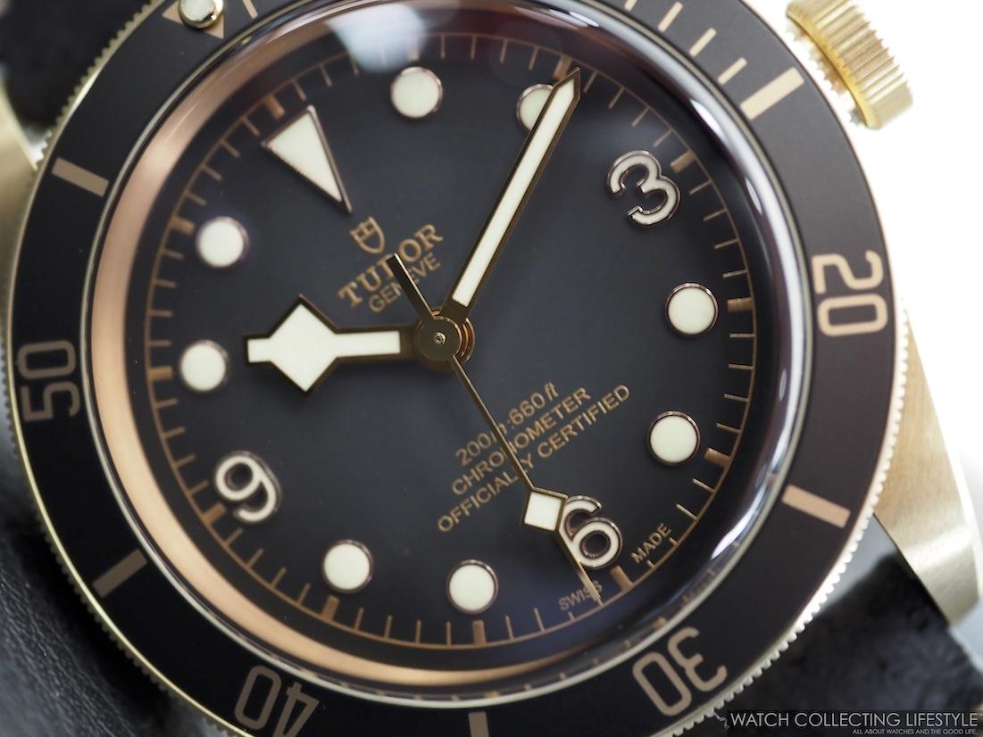 Tudor Black Bay Bronze Black ref. M79250BA-0001