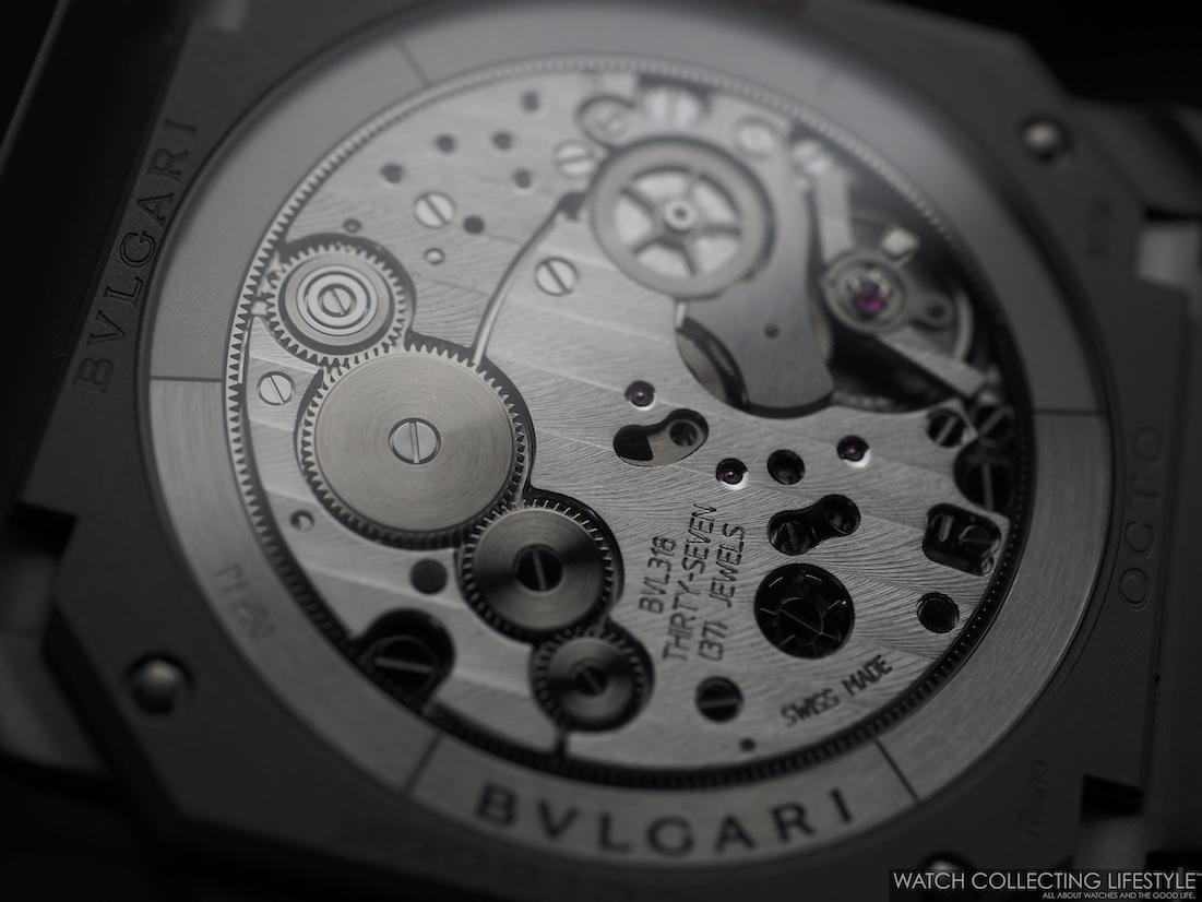 Bulgari Octo Finissimo Chrono GMT Movement