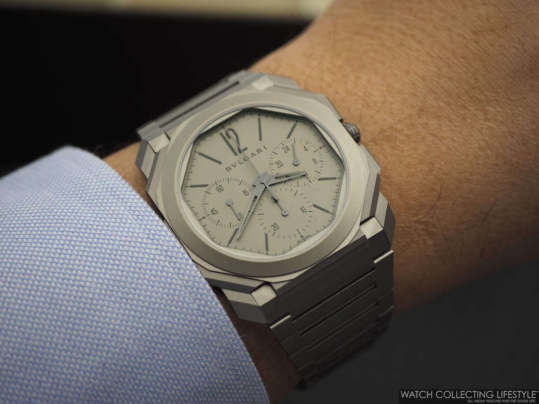 Bulgari Octo Finissimo Chrono GMT Wristshot