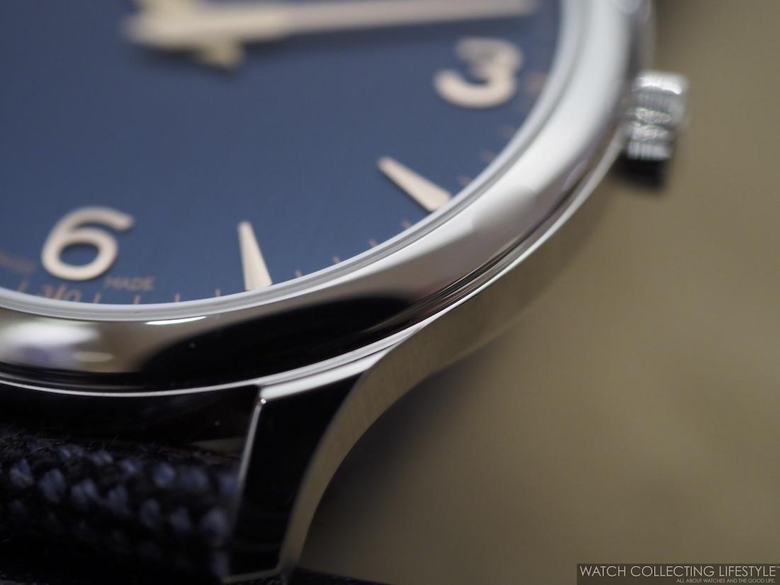Chopard XP Galvanic Blue Case Details