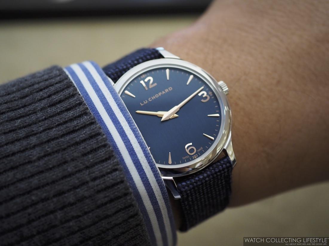 Chopard XP Galvanic Blue Wristshot