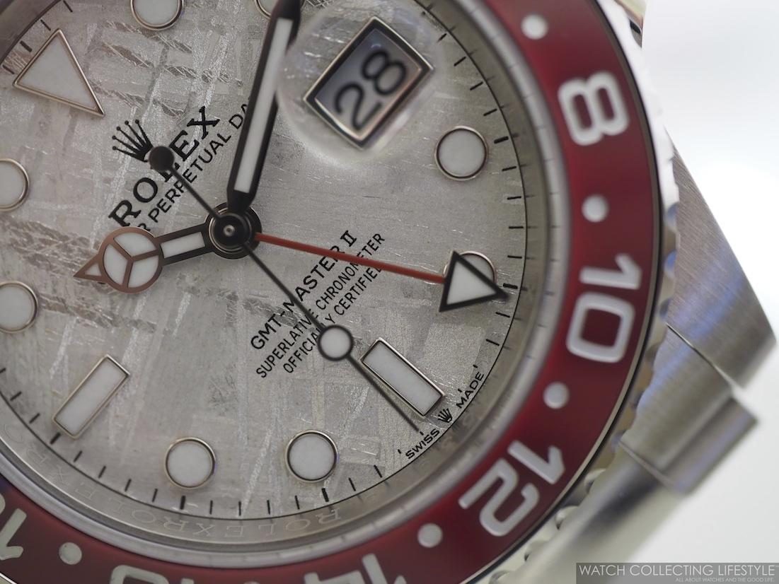 Rolex GMT Master II 'Pepsi' Meteorite Dial ref. 126719BLRO