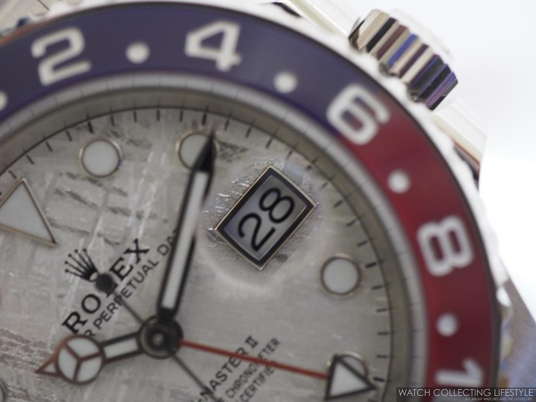 Rolex GMT Master II 'Pepsi' Meteorite Dial ref. 126719BLRO WCL