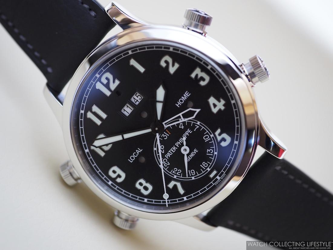 Patek Philippe Alarm Travel Time ref. 5520P-001