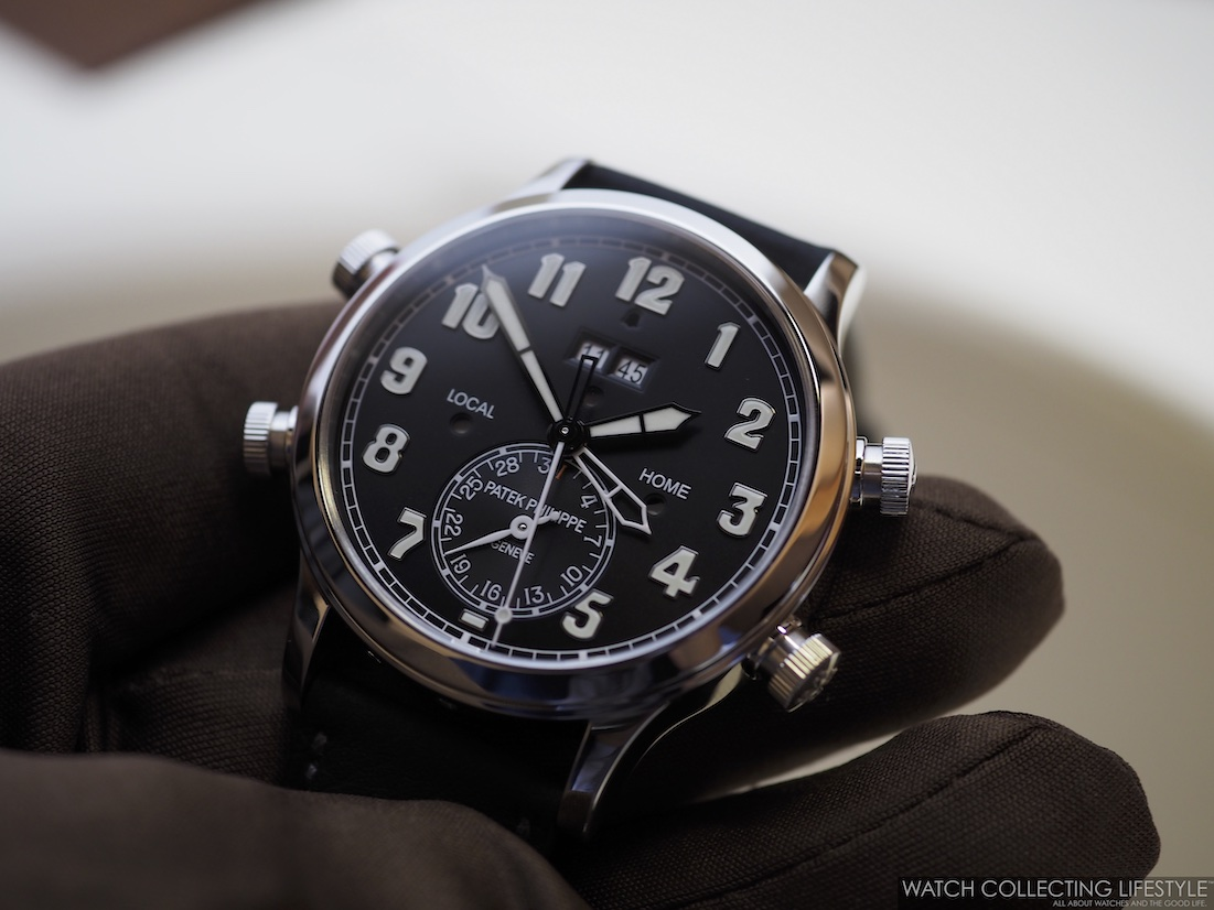 Patek Philippe Alarm Travel Time ref. 5520P Hands-on Review