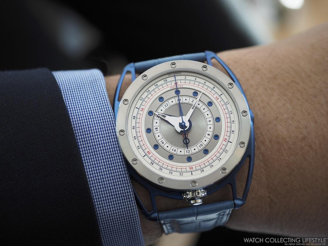 De Bethune DB21 Maxichrono Re-Edition Wristshot
