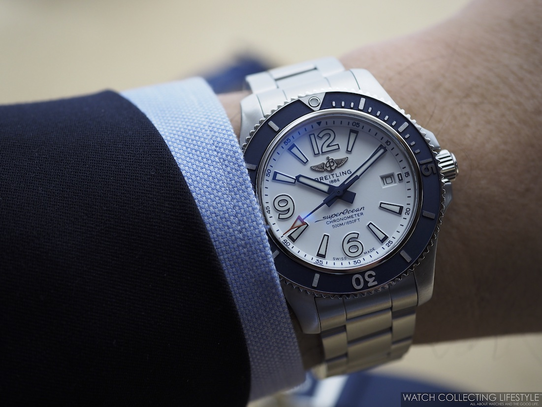 Breitling Superocean 42 Wristshot